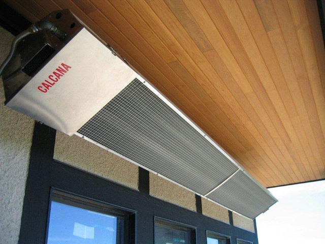 High Output Stainless Patio Heater